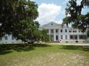 Plum Orchard Mansion on Cumberland Island National Seashore
